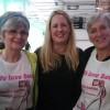Köar till Beto-konserten med Zumba Ladies Marianne & Elisabeth som tryckt upp egna, snygga T-shirts dagen till ära  :o) 3 nov-12